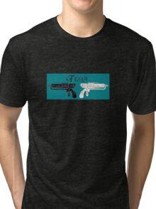 Warehouse 13 - Tesla Tri-blend T-Shirt