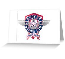 Rogers Boxing Gym 2 on White Greeting Card