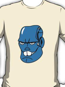 Robot monster cool comic face T-Shirt