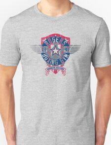 Rogers Boxing Gym 2 on Steel Unisex T-Shirt