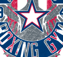Rogers Boxing Gym 2 on Steel Sticker