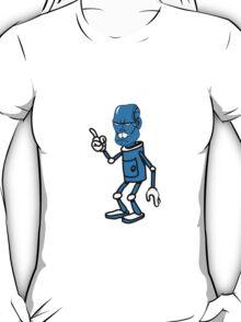 Robot monster cool attention fun comic T-Shirt