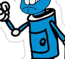 Robot monster cool attention fun comic Sticker