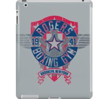 Rogers Boxing Gym 2 on Steel iPad Case/Skin