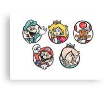 Super Mario World Canvas Print