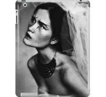 Bride portrait iPad Case/Skin