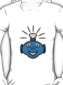 Robot head bulb cool funny funny T-Shirt