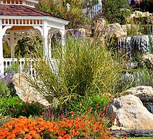 Garden Gazebo by NatureGreeting Cards ©ccwri