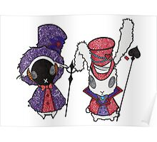 Karneval creatures Poster