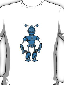 Cool funny robot toy fun T-Shirt