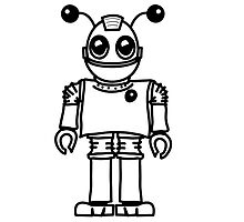 Cool funny robot toy fun by Motiv-Lady