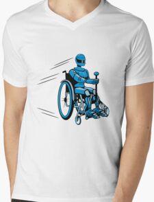 Cool funny robot wheelchair funny Mens V-Neck T-Shirt