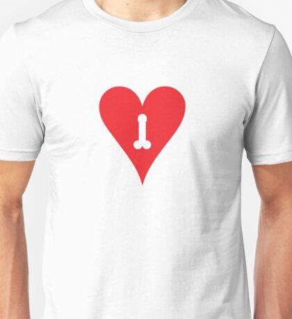 dick-heart / hard-art Unisex T-Shirt