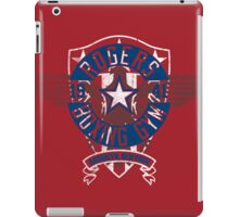 Rogers Boxing Gym 2 on Red iPad Case/Skin