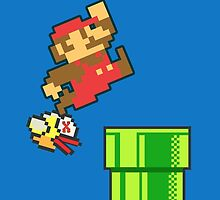 Mario vs. Flappy Bird Phone Case by cjohn4043