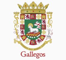 Gallegos Shield of Puerto Rico One Piece - Short Sleeve
