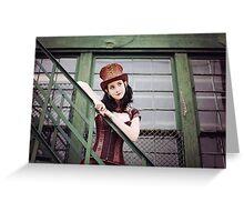 Steampunk Greeting Card