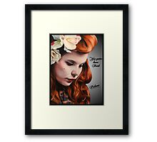 Paloma Faith Framed Print