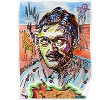 Portrait of Salvador Dalí  Poster