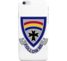 166th Infantry Regiment - Follow Me iPhone Case/Skin