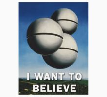 Magritte - I Want To Believe by p13t3rm