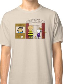 Charlie Brown and the Chocolate Factory Classic T-Shirt