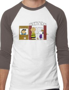Charlie Brown and the Chocolate Factory Men's Baseball ¾ T-Shirt
