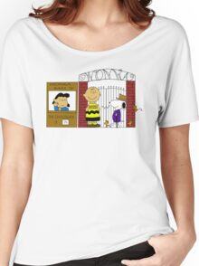Charlie Brown and the Chocolate Factory Women's Relaxed Fit T-Shirt
