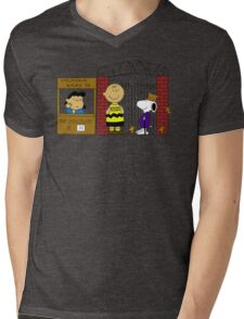 Charlie Brown and the Chocolate Factory Mens V-Neck T-Shirt
