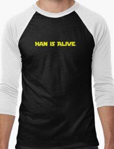 Han is Alive Men's Baseball ¾ T-Shirt