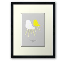 Eames chairs Framed Print