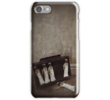 The Black Day Dolls iPhone Case/Skin