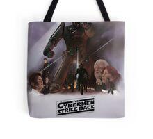 Time Wars - The Cybermen Strike Back Tote Bag
