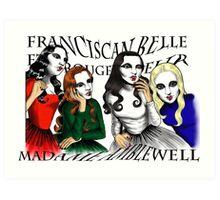 Franciscan Belle sisters Art Print