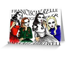 Franciscan Belle sisters Greeting Card