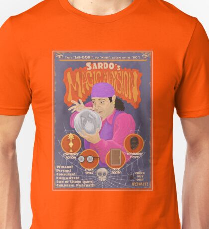 Sardo's Magic Mansion! Unisex T-Shirt