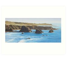 Smooth Surf Art Print