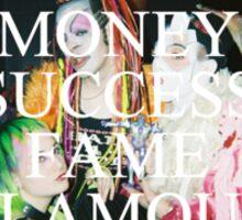 money success fame glamour Sticker
