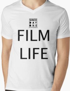 Since Day One - Film Life Mens V-Neck T-Shirt