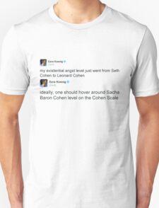 Cohen Scale T-Shirt