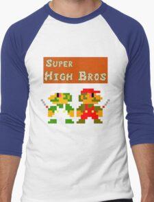 Super High Bros! Men's Baseball ¾ T-Shirt