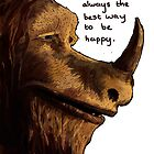 where the wild things are -happiness by Haidee Bain