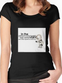 The Universe Women's Fitted Scoop T-Shirt