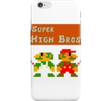 Super High Bros! iPhone Case/Skin