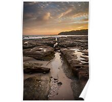 Bosum Beach Sunrise II Poster