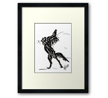 Horse Freedom Framed Print