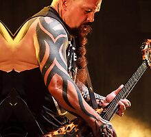Kerry King of Slayer - iPhone Case by HoskingInd