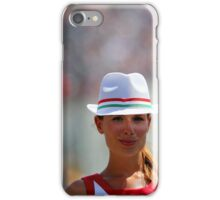Pit girl iPhone Case/Skin