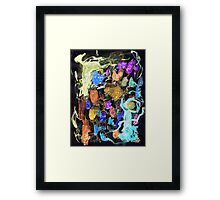 Island Of Spirit Weirdos Framed Print