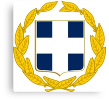 Greece National Emblem  Canvas Print